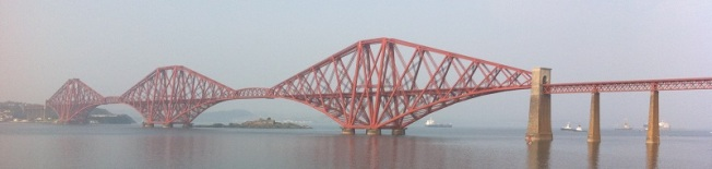 Photograph of the Forth Bridge