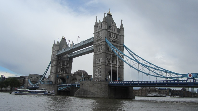 photograph of tower bridge from the south bank of the River Thames
