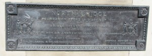 Photograph of commemorative plaque