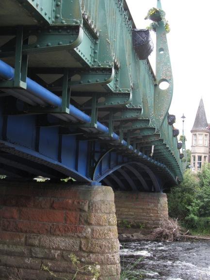 west side of bridge looking south